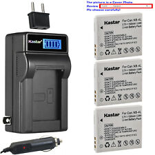 Kastar Battery LCD AC Charger for Canon NB-4L NB-4LH Canon PowerShot ELPH 300 HS