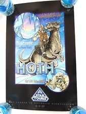 SUPER RARE Star Wars STAR TOURS HOTH GRAND OPENING POSTER 5/20/2011 DISNEY WORLD