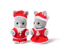 Sylvanian Families Calico Critters Baby Santa Christmas Duo Set