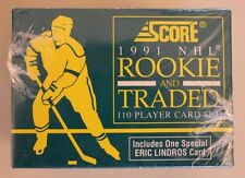 1991 Score NHL Rookie and Traded Set - Factory Sealed