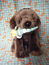 """Dog Soft Toy from New York FAO Schwarz toys r us USA 9"""" x 12"""" approx"""