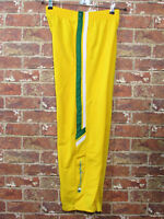 VTG 90's Champion L 14 16  Pop Off Tear Away Pants Track Yellow Green Athletic