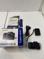 Sony Cyber-shot DSC-H20 10.1MP Digital Camera - Black