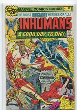 Inhumans #4 FN/VF  Shatterstar  A Good Day To Die    Marvel Comics CBX1H