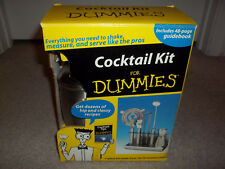 New Box Cocktail Kit for Dummies Bartender Drinks Bar Set Tools Stainless Steel