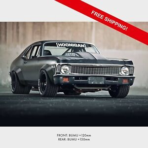 Chevrolet Nova 68 widebody kit/ universal fender flares
