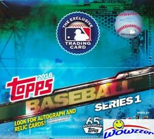 2016 Topps Series 1 Baseball HUGE 24 Pack Factory Sealed Retail Box-288 Cards !
