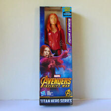 "Marvel Avengers Infinity War Scarlet Witch 12"" 2018 Titan Hero Series"