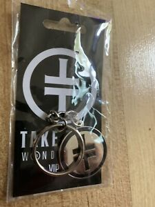 Take That Wonderland Tour VIP Keyring - New, Sealed, Official