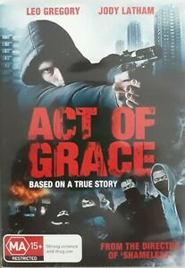 "LEO GREGORY, JODY LATHAM, JENNIFER LIM    ""ACT OF GRACE""    R.4  (LIKE NEW)  DVD"