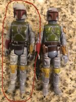 VINTAGE STAR WARS DROIDS - BOBA FETT - 1985 - MULTICOLOR LIMBS & LIGHTBLUE PACK