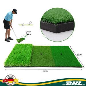 60CM Golfmatte Puttingmatte Übungsmatte Abschlagmatte Training Matte Kunstrasen