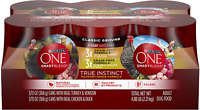 Purina ONE Grain Free, Natural Pate Wet Dog Food Variety Pack, SmartBlend True I