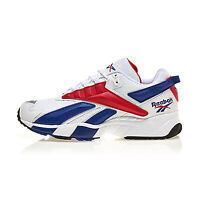 [Reebok] Interval INTV 96 Trainers Shoes Sneakers - White/Scarlet/Royal(FV5520)
