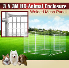 3 x 3M Heavy Duty Animal Enclosure Fencing Barrier Dog Space Kennel Outdoor BNE