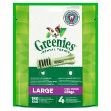 Greenies Grain Free Dental Care Treats 150Kcal Snack for L Dogs 22kg+ 170g Pack