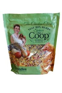 The Chicken Chick's Spruce the Coop Herbal Fusion Nest Box Herbs