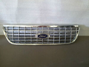 2003-2005 Ford Explorer Front Radiator Grill With Emblem 3L24-8200-B