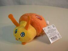 Russ Giggle Bug Snail Orange Plush #31922 New Cute Child Like Giggle Sounds Fun