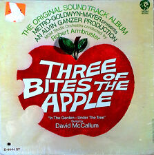 THREE BITES OF THE APPLE - DAVID McCALLUM - LP SOUNDTRACK - MGM LABEL - SEALED
