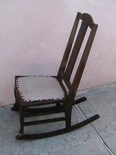 ANTIQUE CHILD'S ROCKING CHAIR THE PHILADELPHIA CHAIR CO