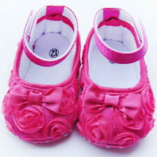 Flutter Rosette Slippers, size 12-18M, New with Tags and Comes in Organza Bag!