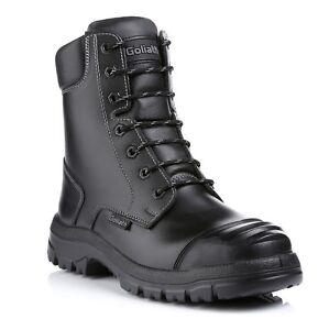 Goliath Groundmaster Combat Safety Boots SDR15CSI Steel Toe Caps Midsole Mens