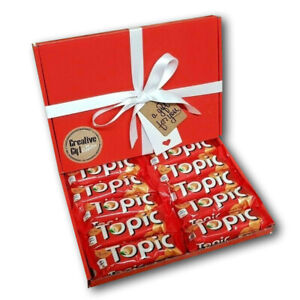 Mars Topic Bars Chocolate Gift Box Mothers Day Easter Birthday Present Red Box