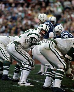 NFL New York Jets QB Joe Namath play Calling Color 8 X 10 Photo Picture