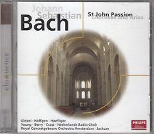 J.S.BACH ST.JOHN PASSION CHORUSES & ARIAS CD