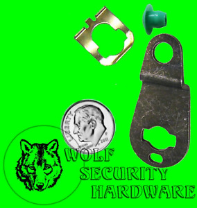 Strattec OEM GM RH or REAR Door Lock Pawl Metal Lever Plastic Rod Retainer Clip