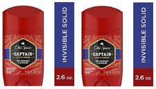 Old Spice Red Collection Captain Antiperspirant & Deodorant 2 Pack