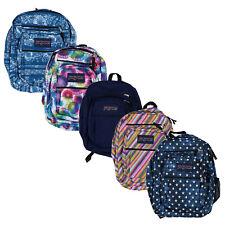 Jansport Big Student Backpack 5 Pocket School Bookbag Shoulder Bag Zip Close New