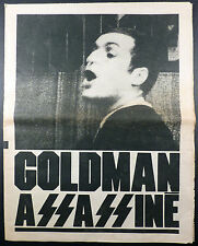 Rouge n° 886 Goldman assassiné Ed. SPN 1979 TBE