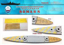 Shipyard 1/700 700048 Wood Deck Italian Roma for Trumpeter