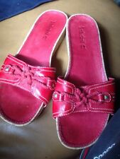 Timberland Sandals Red  Leather Uk 6.5