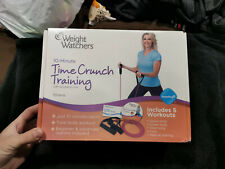 New Weight Watchers 10-Minute Time Crunch Training Dvd With Resistance Cord