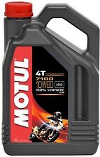 Huile MOTUL 7100 10W60 moto scooter quad Road 4 litres 4 temps 100% synthèse