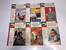 Vintage Singer Sewing Library Lot of 6 How To Instruction Books