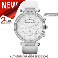 Michael Kors MK2277 Parker Ladies Chronograph Leather Watch