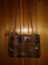 Vintage Ronora Snakeskin Reptile Bag Multicolor Beautiful And Rare