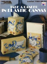 Take a Gander ~ Duck Goose Coasters Tissue & More plastic canvas patterns