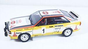 1:18--AUTOart--Audi quattro #1  / 43 D 372