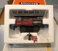LIONEL OPERATING TRACK MAINTENANCE CAR SLIGHTLY USED