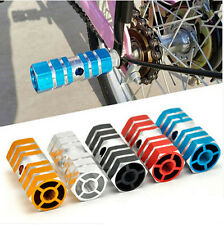 2pcs Bicycle Pedals Aluminum Alloy Foot Steps Motorcycle Rear Pedal Anti Slip