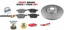 FOR VOLVO XC60 08 ONWARDS REAR BRAKE DISCS & PADS SET **OE Matching Quality**