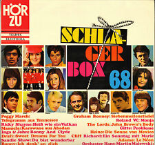 "DIVERS ""SCHLAGER BOX 68"" LP ADAMO, LORDS, SANDIE SHAW, PEGGY MARCH !"