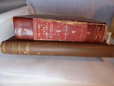 2 Antique Books: RARE Brahms 4 Symphonies, Clavierspiels C.F. Weitzmann (German)