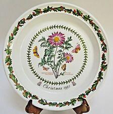 Portmeirion Botanic Garden Christmas 1995 Chrysanthemum Plate England