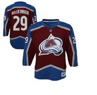 NHL Colorado Avalanche #29 MacKinnon Hockey Jersey New Youth L/XL MSRP $70